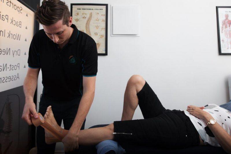 Ankle sprain physio